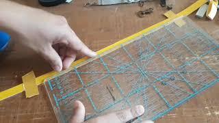 Puxadores de cursor e ALÇA de mão (usando os retalhos de sintéticos)