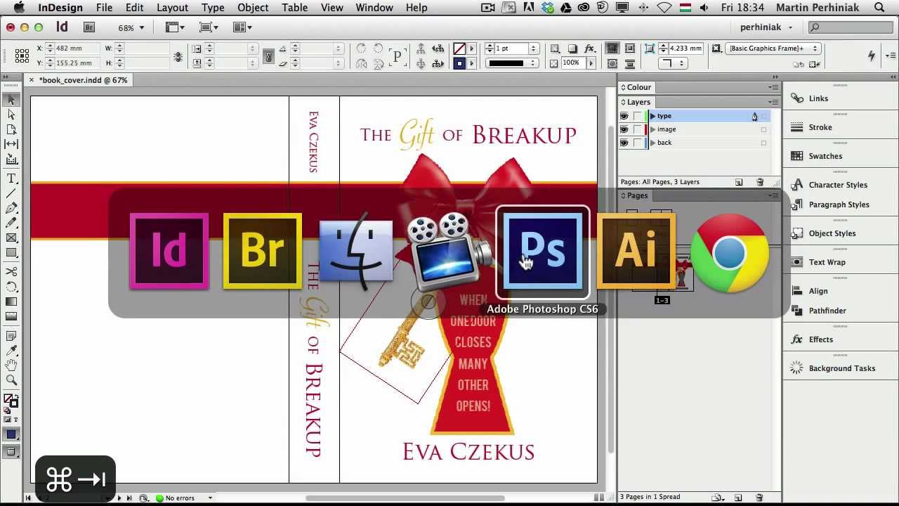 How To Make A Book Cover In Indesign ~ How to create a book cover and mock up in adobe indesign