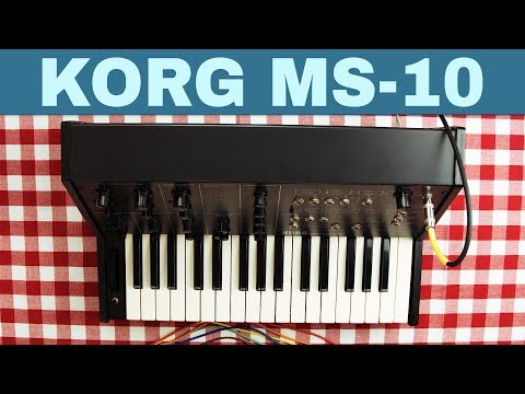 KORG MS-10 TUTORIAL AND OVERVIEW