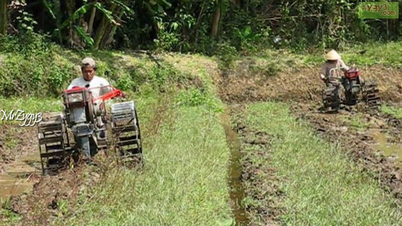 Yanmar Tractor 2 Wheel : Yanmar wheel tractor plowing race youtube