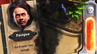 Hearthstone: Fatigue Warrior Return?