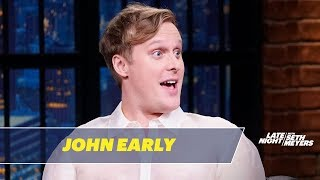 John Early Tells the Strange Story of Officiating Amy Schumer's Wedding