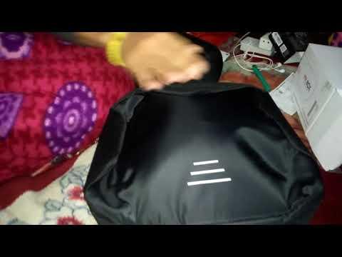 Anti Theft Backpack Waterproof 15.6 Inch Laptop Bagpack USB Charging