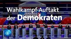 US-Wahlkampf 2020: Kandidaten der Demokraten stellen sich vor