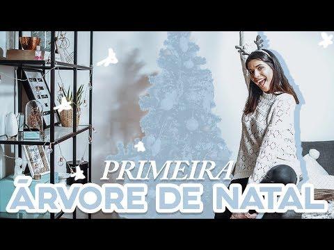 MONTANDO A ÁRVORE DE NATAL PELA PRIMEIRA VEZ | Catarina Filipe
