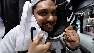 THE QREW GOES SNEAKER SHOPPING IN THE BAY!!