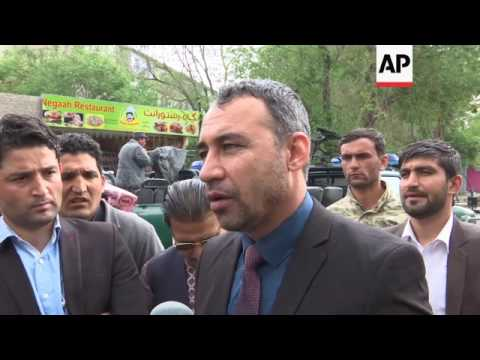 Afghan Interior Ministry on Kabul suicide attack