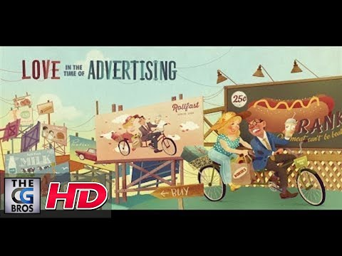 """CGI 3D Animated Shorts: """"Love In The Time of Advertising"""" - by Wolf and Crow"""