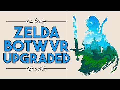 Zelda BOTW VR Upgraded   60 FPS PC VR vs Nintendo Switch Labo Comparison