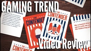 The Contender card game review [Gaming Trend]