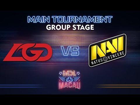 LGD vs NaVi - MDL Macau 2017: Group Stage - @LD @WinteR