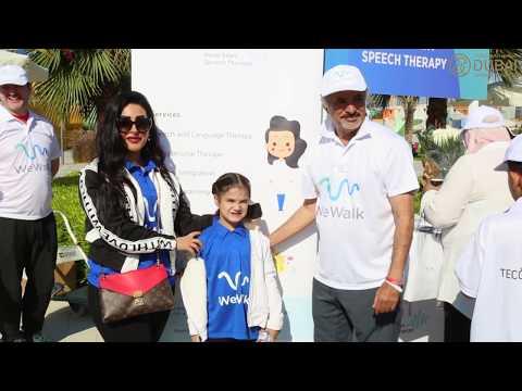6143633f1 شاركت في مسيرة ''معا نمشي''#دبي 2019 أجي تشوف شنو درناwe walk for autism #dubai  2019 Vlog #08. فعاليات معا نمشي 08-03-2019