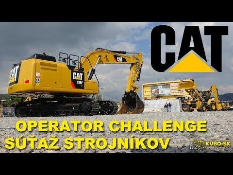 Súťaž Strojníkov Cat | Cat Operator Challenge | Slovakia 2017