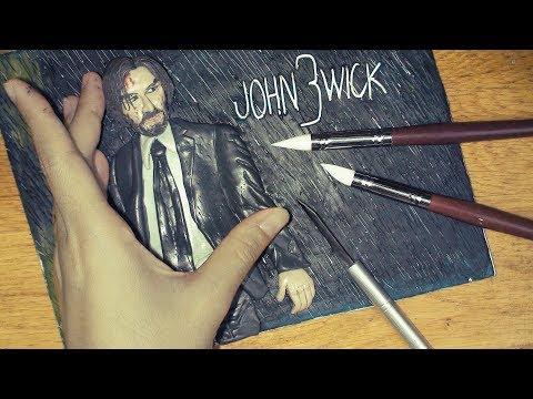 Clay Art - Making Keanu Reeves in John Wick 3