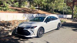 Toyota Avalon 3.5 V6 2019 test PL Pertyn Ględzi