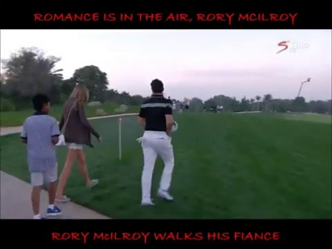 Rory Mcilroy and his fiance Erica Stoll