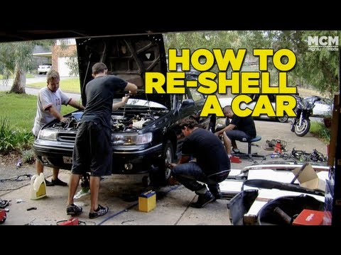 How To Reshell a Car