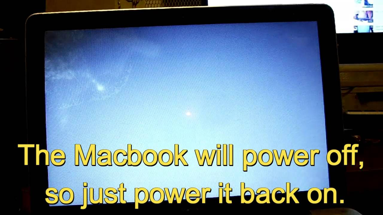 how to bring macbook to factory settings