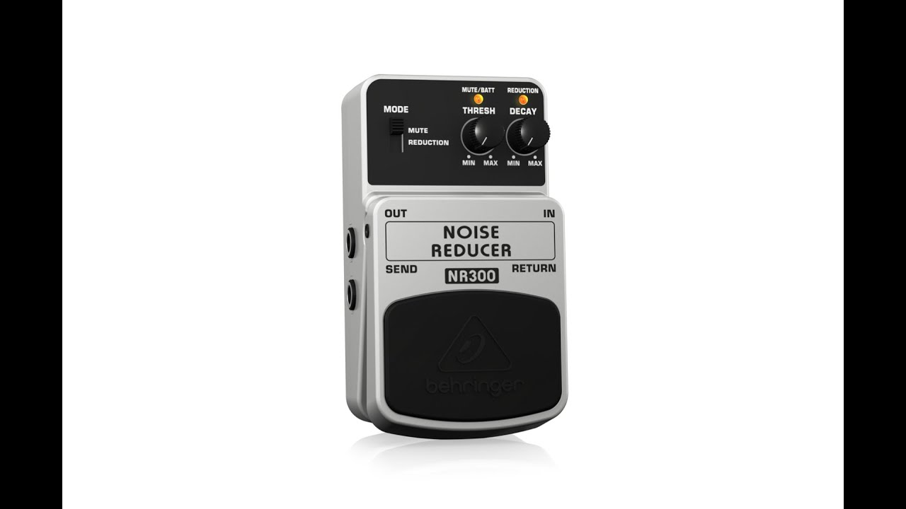noise reducer nr300 ultimate noise reduction effects pedal youtube. Black Bedroom Furniture Sets. Home Design Ideas