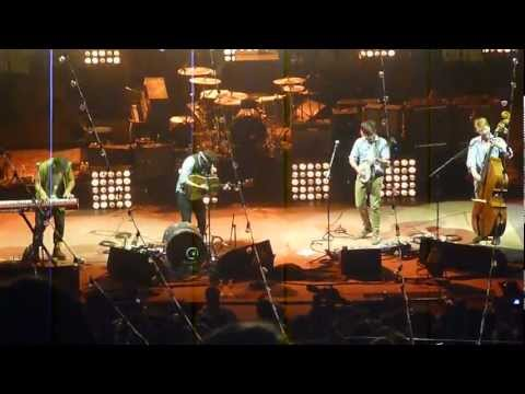 MUMFORD & SONS Roll Away Your Stone RED ROCKS Colorado 8/28/12
