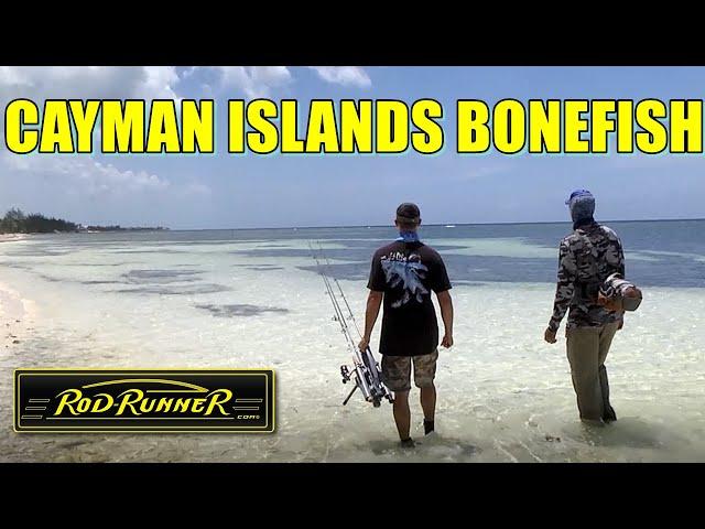 Cayman Islands BONEFISH with Capt. Jimmy Nelson & ROD-RUNNERS (Monster Bonefish!)