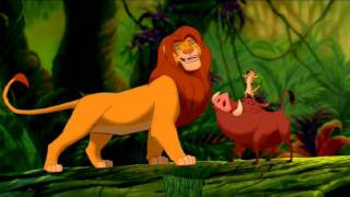The Lion King - Hakuna Matata one line multilanguage (adult Simba)