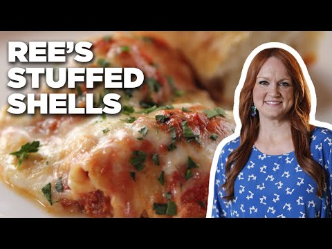 The Pioneer Womans Stuffed Shells Food Network Youtube