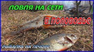 ЛОВЛЯ НА МЕРЕЖІ В ПОВІДДЯ / РИБАЛКА НА ПЕЧОРІ /FISHING WITH NETS IN THE WATER/FISHING ON THE PECHORA