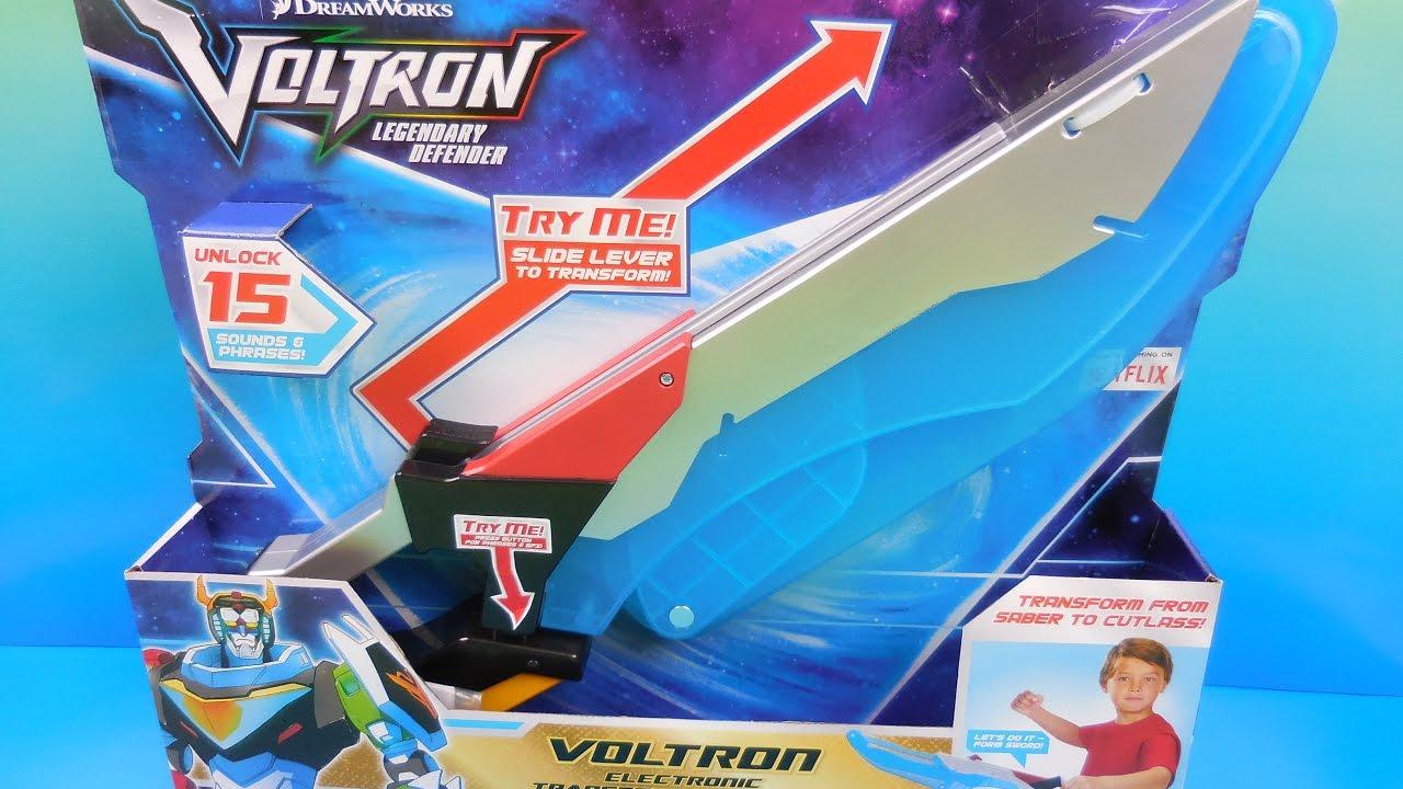 Dreamworks Voltron Legendary defender Electronic Transforming Roleplay Sword