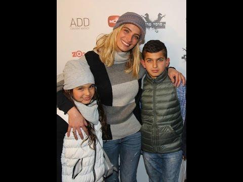 אילנית לוי מבלה עם הילדים