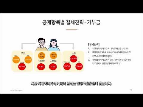 17_기부금 공제의 절세전략
