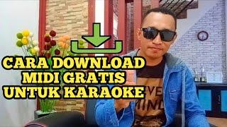 #MidiFile #MidiKaraoke.                                      Cara Download MIDI Gratis Untuk Karaoke