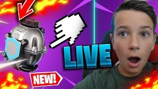 LIVE EN FORTNITE MAJ At 10H I TEST THE NEW BOUCLIER DOME ULTRA CHEAT ?? PROTECTIVE BUBBLE