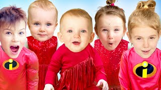 Little babies Story with Five Kids