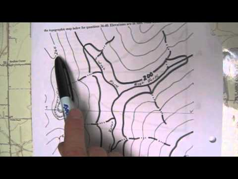 Determining the Contour Interval and Elevation