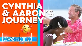 Cynthia and Aaron's journey | Love Island Australia 2019