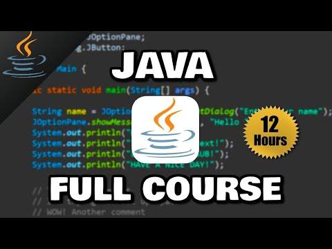 Java Full Course ☕ (𝙁𝙧𝙚𝙚)