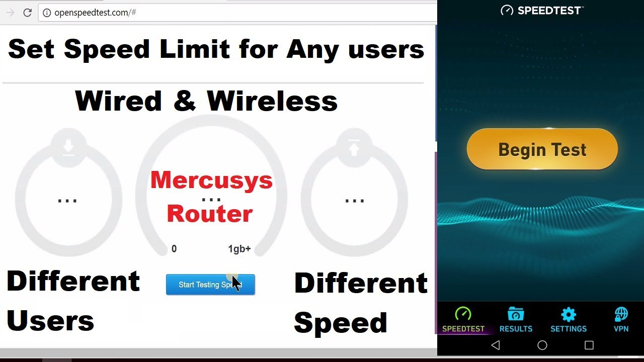 Mercusys Router set speed limit for Any users (Wired / Wireless ...