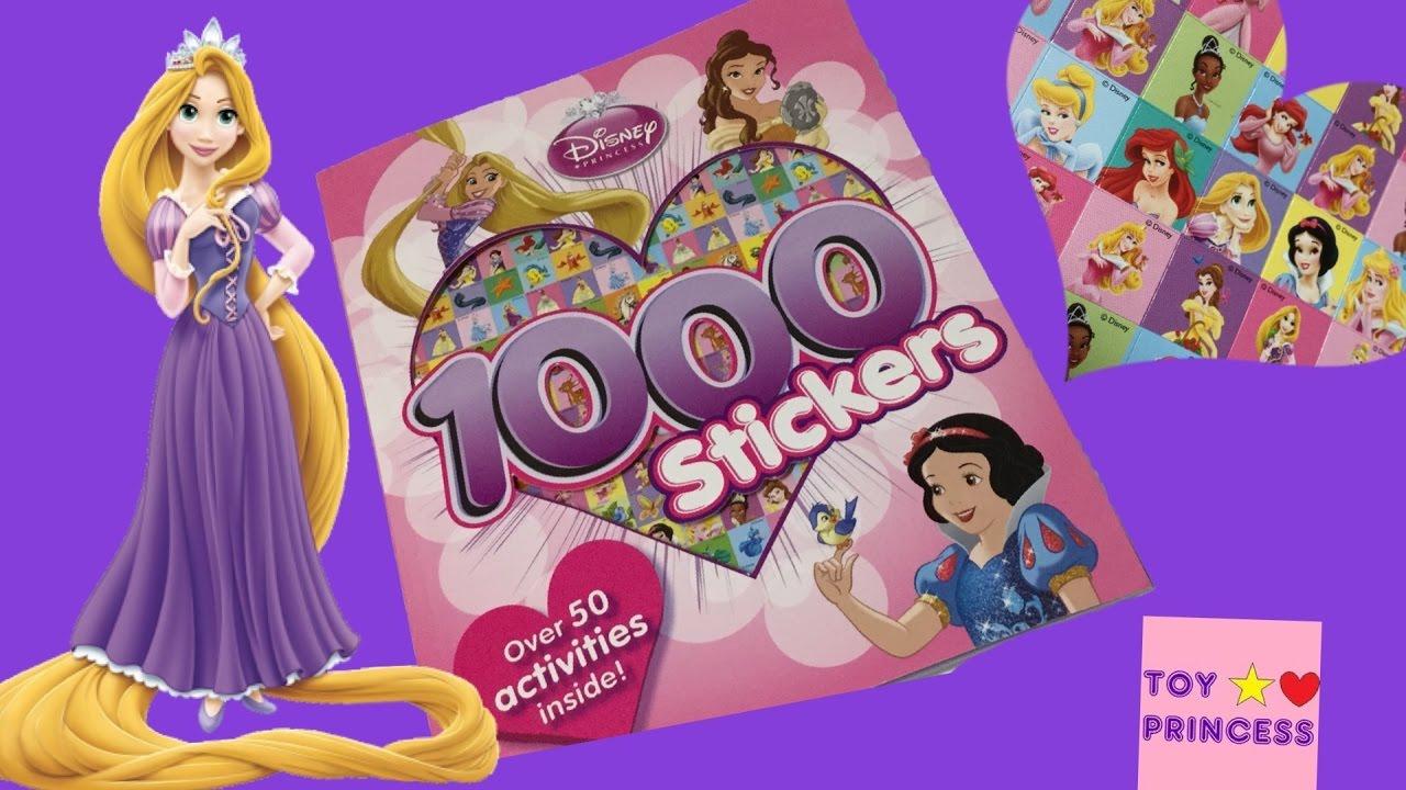 disney princess 1000 stickers activity bookpart 2 disney tangled princess rapunzel
