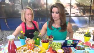 Lisa gets some pool party food ideas from Raley