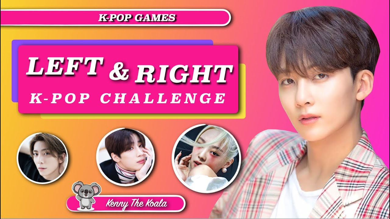 Left & Right Challenge |K-POP GAME|