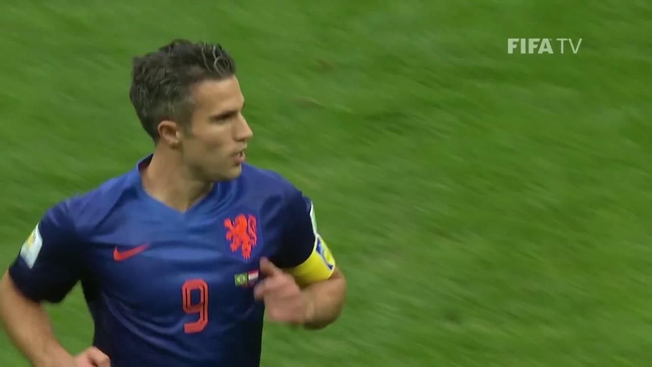 28a2c86b5a Robin van Persie Mundial 2014 Holanda - Espanha - YouTube