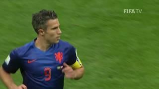 Robin van Persie Mundial 2014 Holanda - Espanha