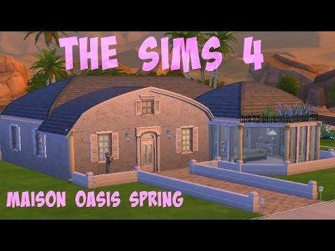 Sims 4 Maison Oasis Spring 1