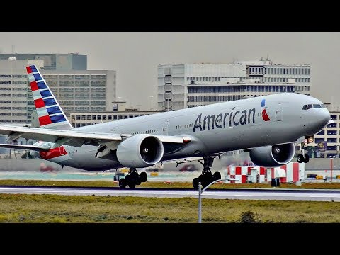 American Airlines NEW VS. OLD LIVERY | Plane Spotting Compilation | 777, 767, 757, A321 + More