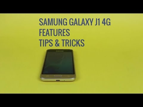 Samsung Galaxy J1 4G features, tips and tricks (applicable to other J series models)