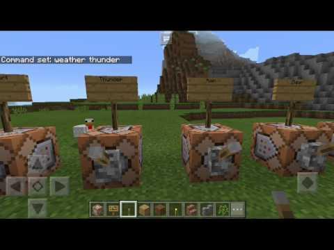 Minecraft Pe Command Block Tutorial