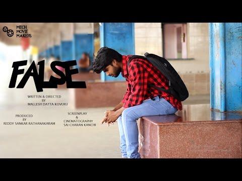 FALSE l Telugu Suspense Thriller Short Film 2017 l by Mech Movie Makers