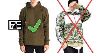 How to PROPERLY STYLE A HOODIE
