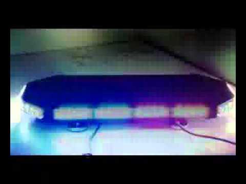 Cyclone Indicator Tri Color 27 Quot Led Mini Light Bar Wmv